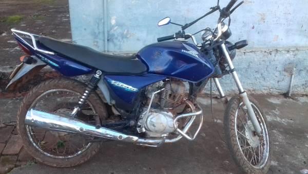 Em ação rápida, Brigada Militar recupera motocicleta furtada