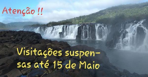 Visitações ao Salto do Yucumã seguem suspensas