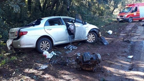 Grave acidente deixa duas vítimas fatais em Ijuí