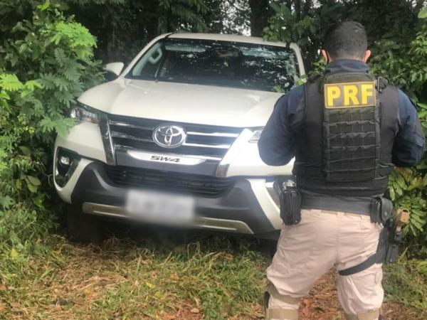 Polícia Rodoviária Federal recupera veículo roubado em Seberi