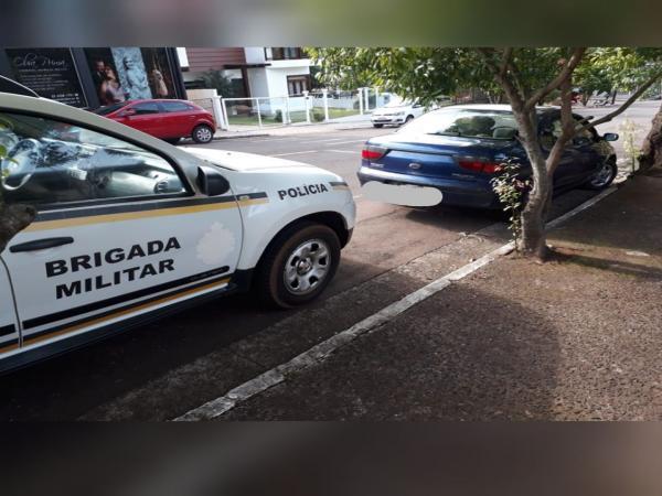 Brigada Militar efetua prisão por receptação e recupera veículo furtado