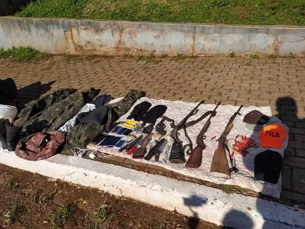 Quatro assaltantes são presos em Miraguaí