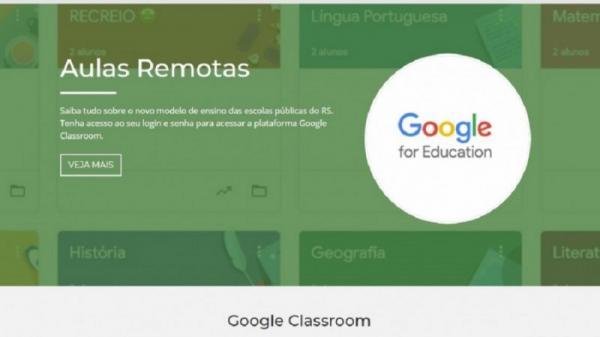 Começa implantação das Aulas Remotas na rede estadual de ensino
