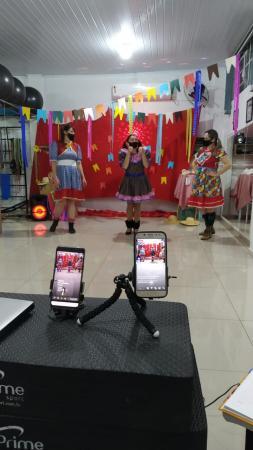 Colégio Ipiranga anima crianças em festa junina online