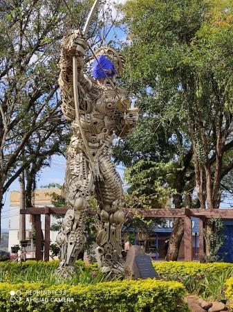 Rotary realiza ação de conscientização contra a Covid-19 em Tenente Portela