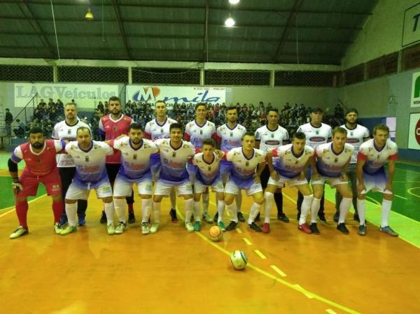 Tenente Portela empata com Chiapetta na estreia da 5ª Copa Noroeste de Futsal