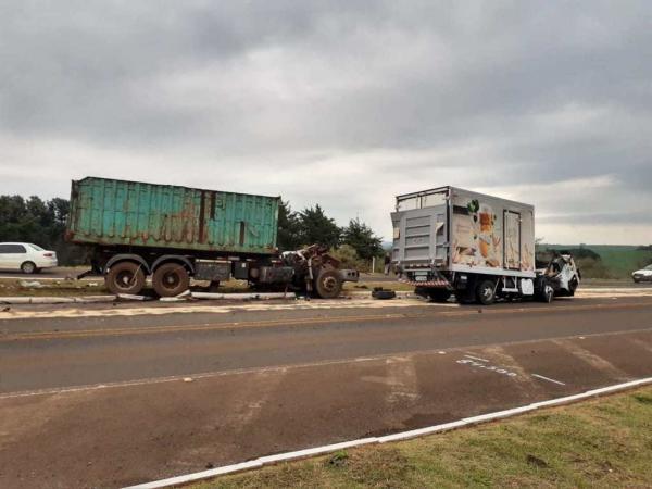 Morre motorista de caminhão envolvido em acidente na BR 468