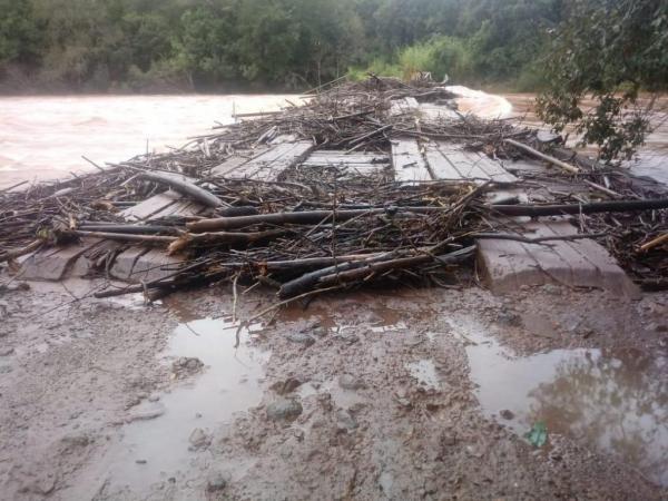 Prefeitura de Três Passos divulga estragos causados pelas chuvas