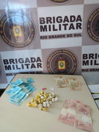 Brigada Militar intercepta entrega de drogas no Presídio Estadual de Três Passos