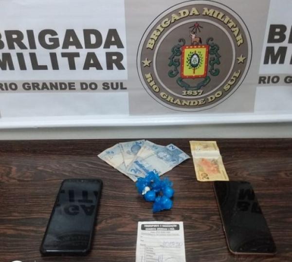 Vista Gaúcha: Dupla é presa pelo crime de tráfico de drogas