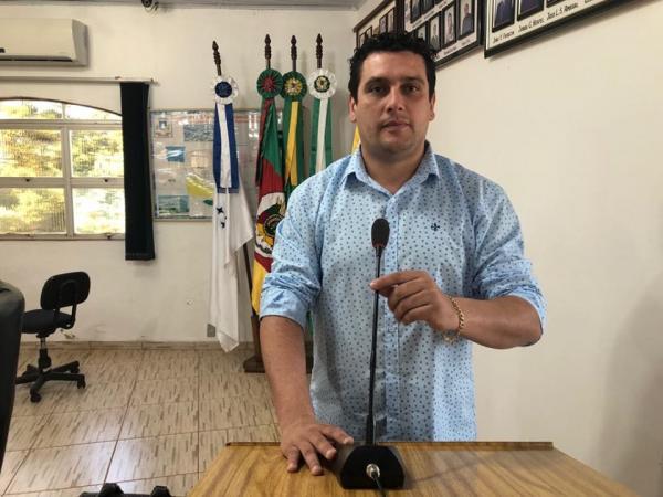 Coronel Bicaco: Vereador se disponibiliza para trabalhar voluntariamente no hospital