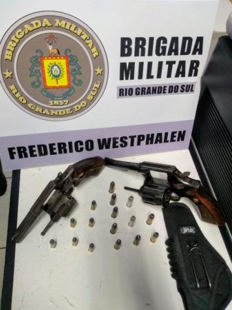 BM prende três pessoas envolvidas em tiroteio em bairro de Frederico Westphalen