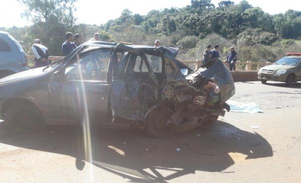 Três pessoas morrem e três ficam feridas após acidente de trânsito na ERS 223