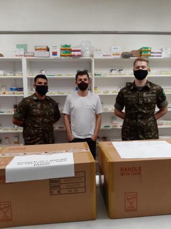 Medicamentos para intubação foram entregues ao Hospital de Caridade de Três Passos