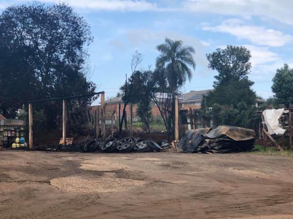 Incêndio reabre debate sobre bombeiros voluntários em Coronel Bicaco