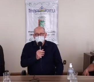 Prefeito de Tenente Portela explica renovação de convênio após sumiço de trator