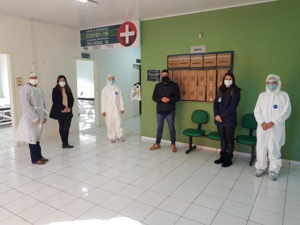 Três Passos define nova metodologia de testagem do coronavírus