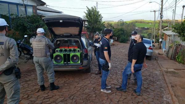 Tenente Portela: Operação apreende equipamentos usados em eventos clandestinos