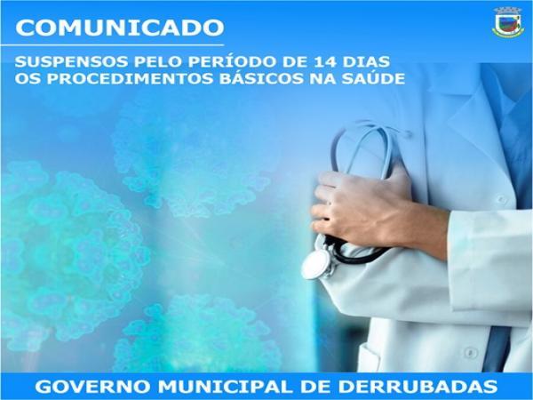Saúde de Derrubadas suspende atendimentos básicos