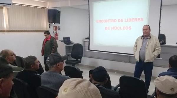 Diretoria realiza encontro com Líderes de Núcleo de Humaitá das unidades Cotricampo