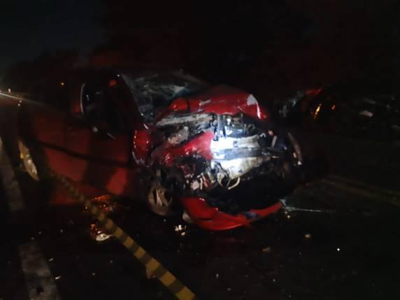 Uma pessoa morre e mais duas ficam feridas em acidente na BR-472 em Santa Rosa