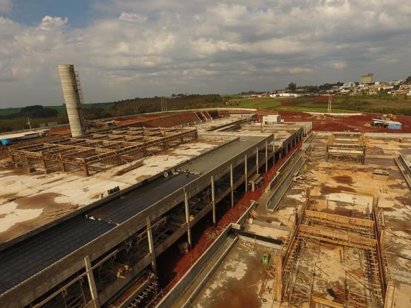Hospital Público Regional de Palmeira das Missões já está 28% concluído