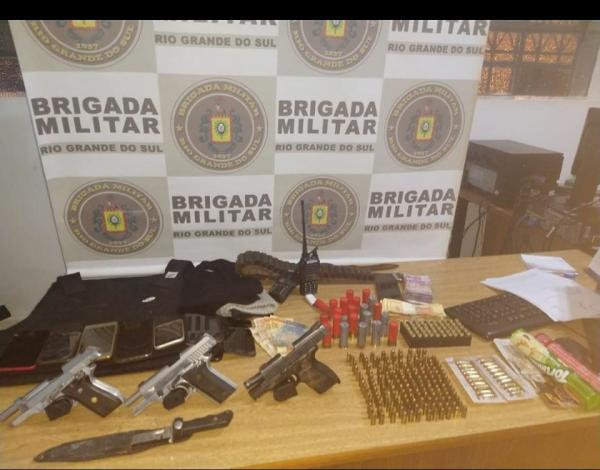 Sete pessoas são presas por envolvimento no assalto à banco em Novo Barreiro