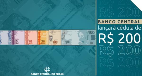 Nota de R$ 200 começa a circular nesta quarta