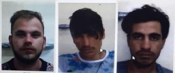 Polícia divulga imagens de foragidos do Presídio de Três Passos