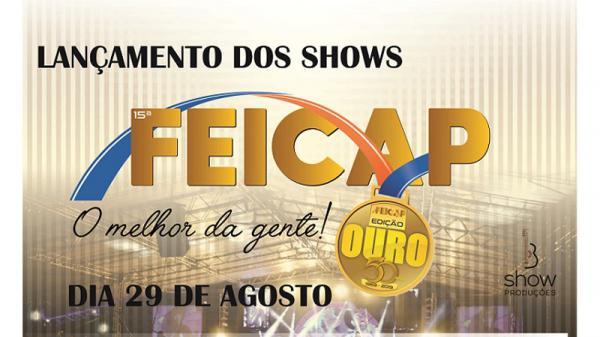 Três Passos: Lançamento oficial de shows da FEICAP 2019 acontece amanhã (29)
