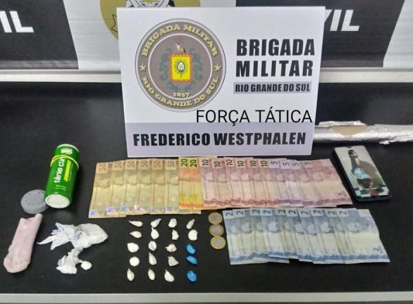 Mulher é presa por tráfico de drogas em FW