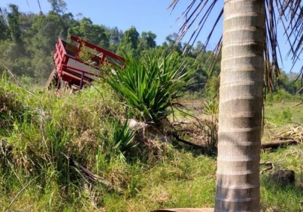 Acidente no interior de Itapiranga mata agricultor de 62 anos