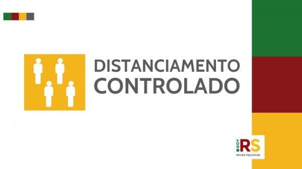Mapa preliminar do distanciamento controlado recebe oito pedidos de reconsideração