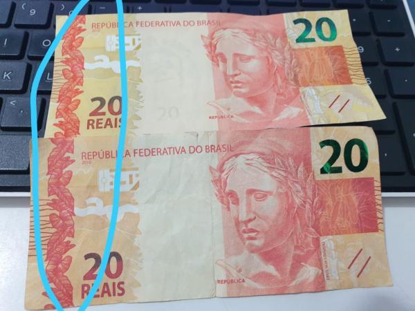 Notas falsas estão circulando pelo comércio portelense
