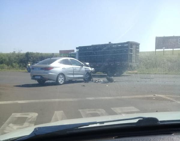 Acidente de trânsito em Esquina Boa Vista