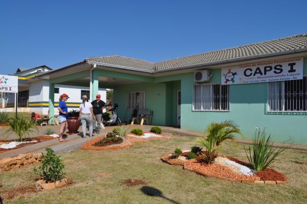CRAS promove cursos de Jardinagem a pacientes em Tenente Portela
