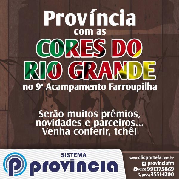 Rádio Província promove programação especial durante Acampamento Farroupilha