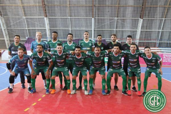 Guarani vence mais uma na Série Ouro de Futsal