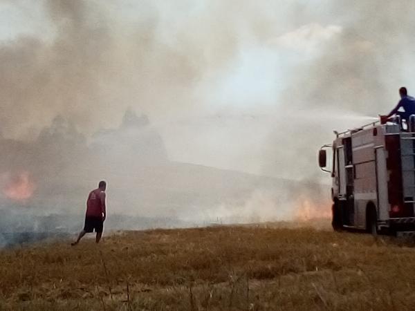 Incêndio é controlado no bairro São Francisco de Tenente Portela