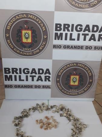 BM intercepta entrega de drogas no Presídio de Três Passos