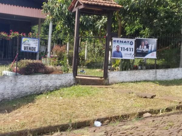 Justiça Eleitoral determina a retirada de propaganda irregular em Tenente Portela
