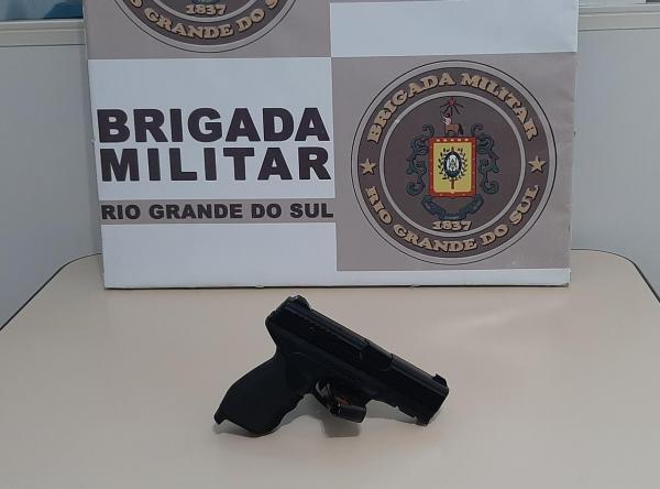 BM de Três Passos prende indivíduo com simulacro de arma de fogo