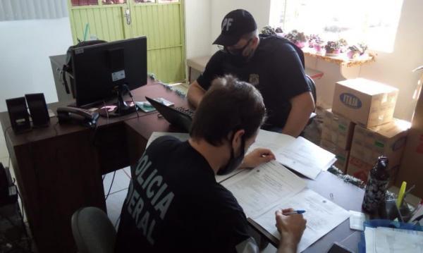 Polícia Federal investiga fraude na terceirização de serviços da saúde e cumpre mandados em Ijuí