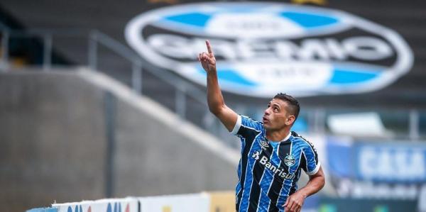 Grêmio renova com Diego Souza até o final de dezembro de 2021