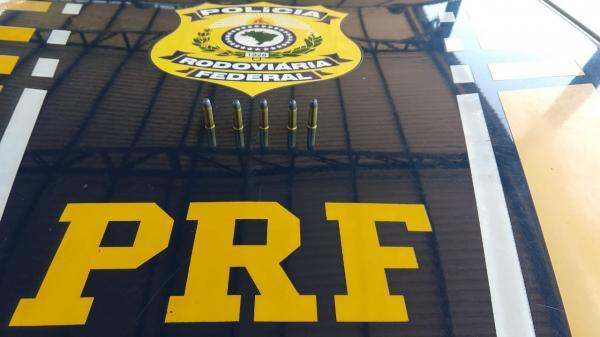 Polícia Rodoviária Federal apreende munições em Seberi