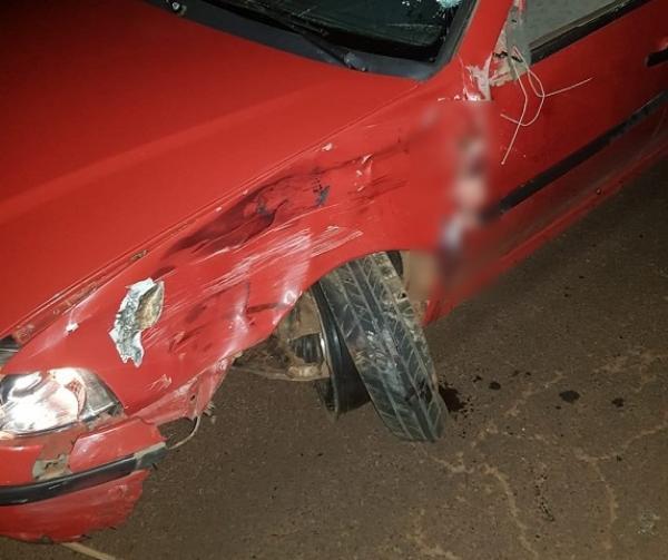 Acidente de trânsito em Miraguaí deixa ocupantes de moto feridos