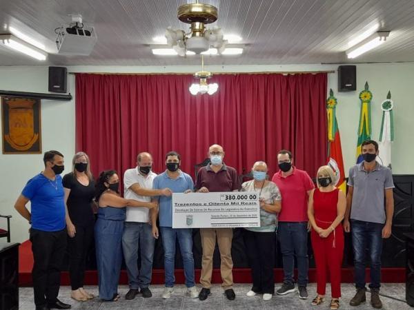 Câmara de Vereadores de Tenente Portela devolve R$ 380 mil ao Poder Executivo