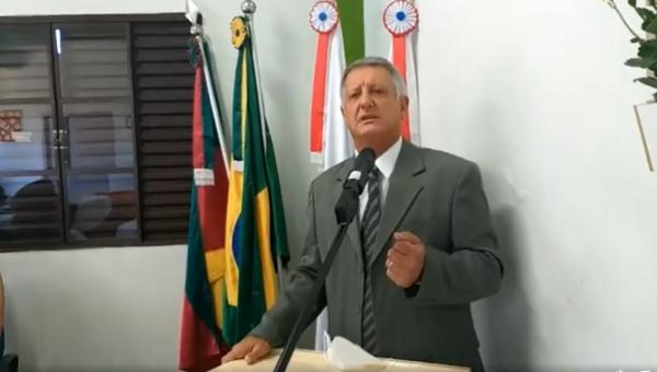 Vista Gaúcha: Locatelli toma posse e diz que sentimento é o mesmo de quando assumiu a prefeitura pela primeira vez