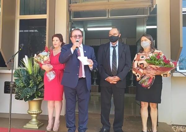 Nilson Costa toma posse para o sexto mandato consecutivo do MDB em Redentora
