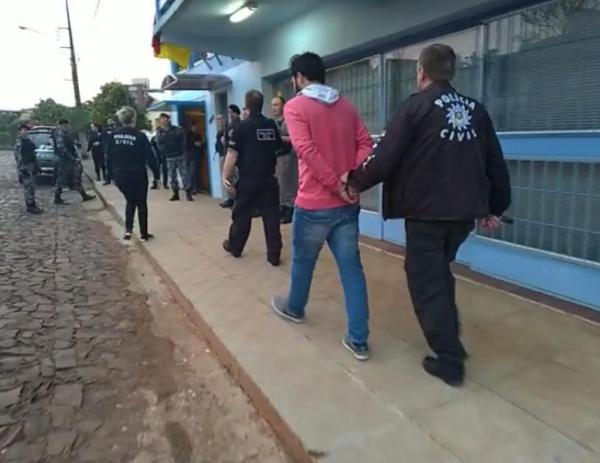 Região Celeiro: Operação policial prende pessoas envolvidas com o tráfico de drogas